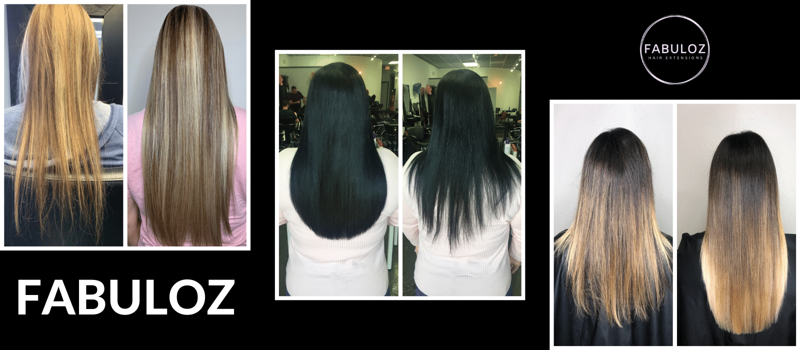 Hair Extensions For Thinning Hair before and after